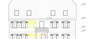Sanierung eines denkmalgeschütztes Wohnhauses