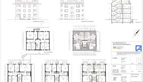 Dachausbau und Errichtung von Dachgeschosswohnungen, Duisburg
