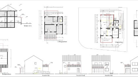 Barrierefreie Gestaltung eines bestehenden Einfamilienhauses, Köln