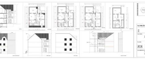 Umbau und Sanierung eines Mehrfamilienhauses, Bochum