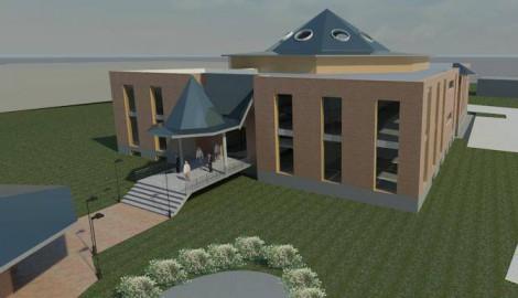 Entwurf für ein Gemeindehaus, Bottrop